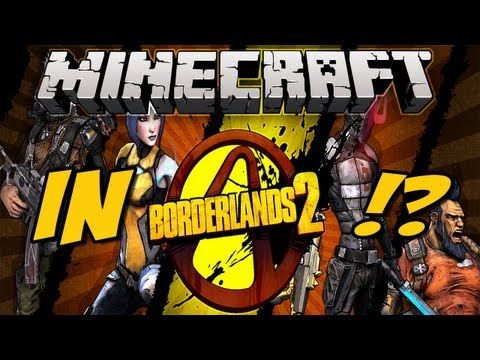 Borderlands 2 : Minecraft et Creepers